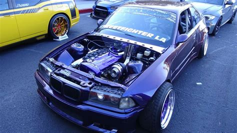 how do cars engines work 1996 bmw m3 spare parts catalogs 1996 bmw m3 with a rb26 skyline engine swap full on drift car at sema 2017 youtube