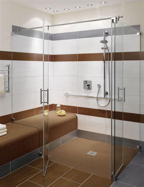 virtuelles badezimmer design fishzero dusche sitzbank gemauert verschiedene