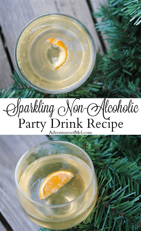 sparkling celebration punch recipe non alcoholic sparkling non alcoholic drink recipe with a touch of tangerine