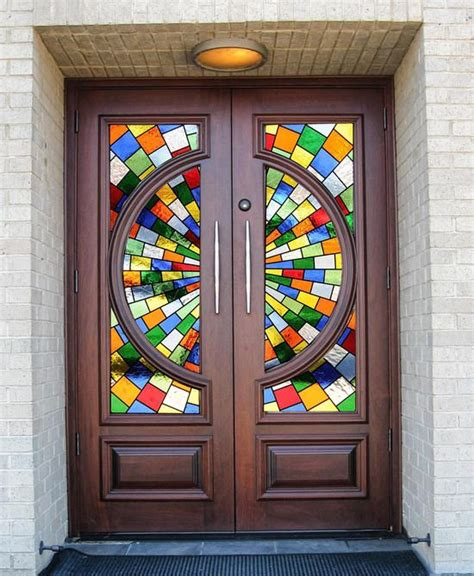 Church Glass Doors Stained Glass Door Stained Glass And Doors On