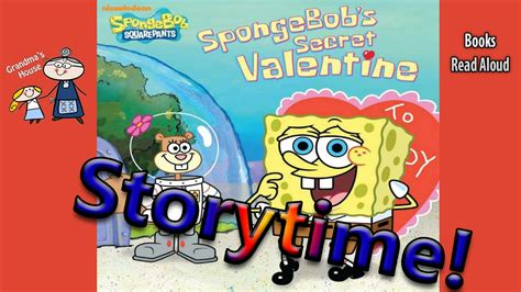 spongebob s secret book spongebob s secret read aloud s day