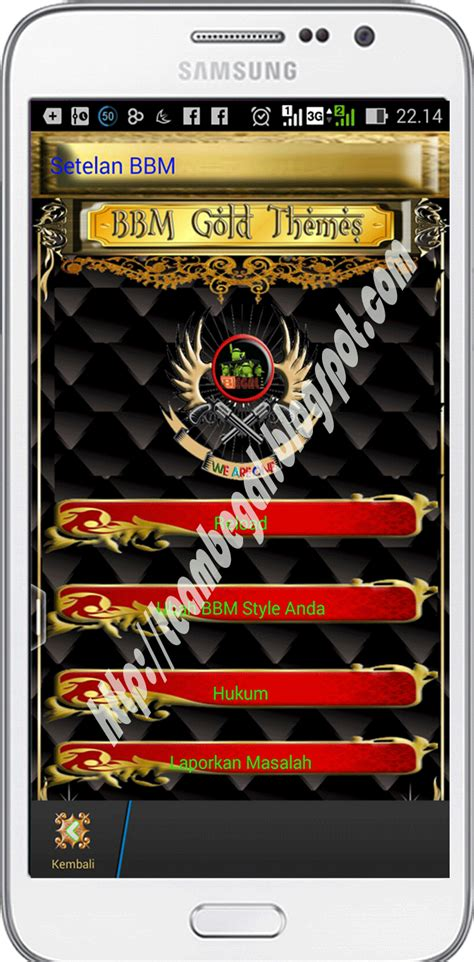 gold team themes bbm begal quot gold themes quot v2 8 0 21 team begal budiman