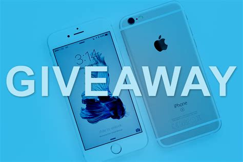 Mobile Home Giveaway On Facebook - iphone 6s 6s plus giveaway roundreviews