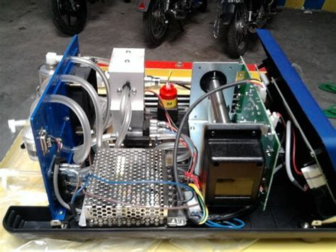 Alat Ukur Emisi Gas Buang gas emision analizer alat uji gas buang kendaraan bermotor gitronik