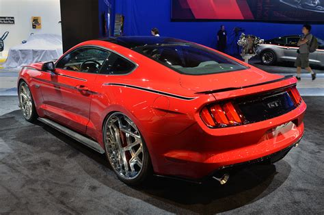 sema show 2014 ford mustang gt by cgs performance
