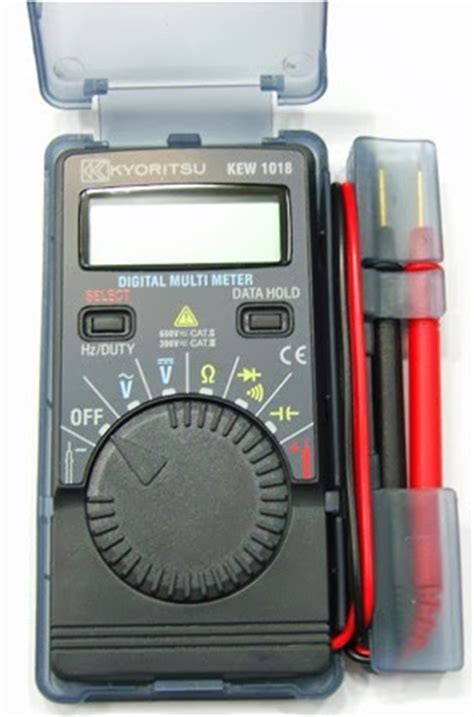 Multimeter Digital Kyoritsu kyoritsu 1018h digital pocket multimeter