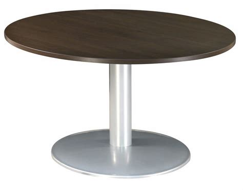 buro table buro circular tables metal base 1000mm diameter