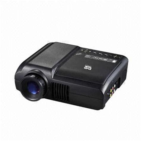 Proyektor Portable Mini Si home theatre portable dvd projector with dvd rmvb mp5
