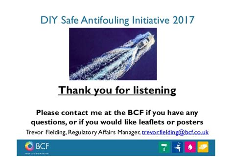 boat paint bcf diy safe antifouling initiative
