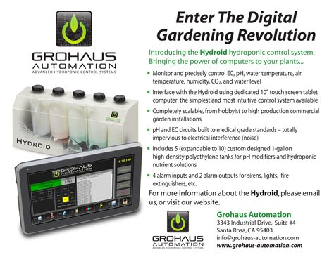 Grohaus Automation Inc Announces The Introduction Of The