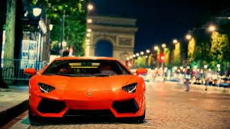 lamborghini aventador city hd wallpaper free high