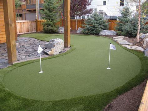 backyard putt putt best 25 backyard putting green ideas on pinterest golf