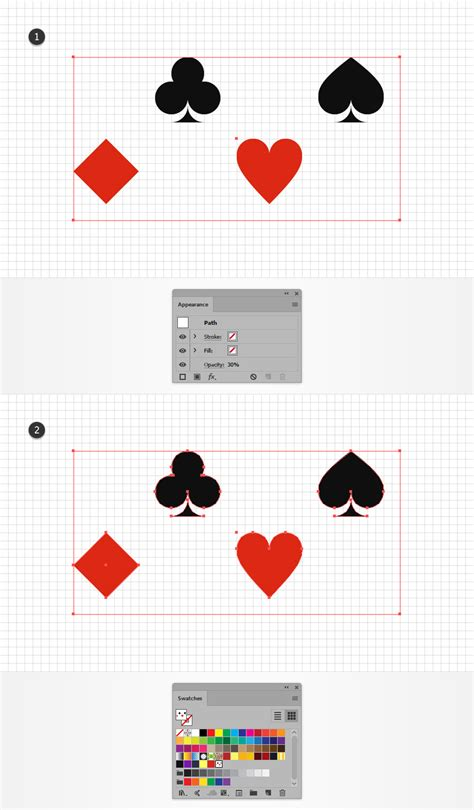 save pattern ai how to create a card suits pattern in adobe illustrator