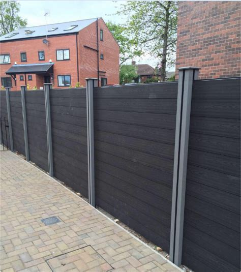 composite fence panels 28 images composite fencing manchester pride home services