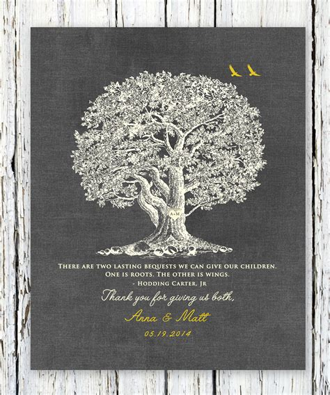 Wedding Quotes Roots by Roots And Wings Poem Hodding Jr Thank You Wedding