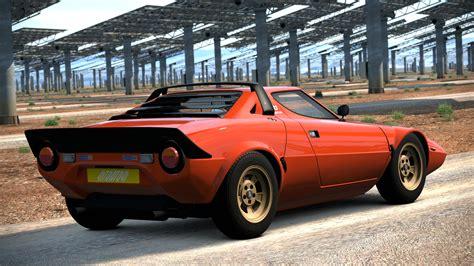Lancia Stratos 5 1973 Lancia Stratos Hf Stradale Gran Turismo 6 By
