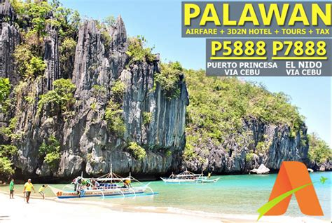 inclusive palawan  package  roundtrip airfare
