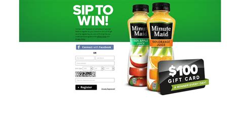 Text Instant Win - minutemaidmornings com minute maid sip text win promotion a winner every day