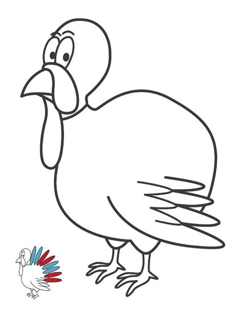 Turkey Feather Coloring Page Coloring Home Feather Coloring Pages