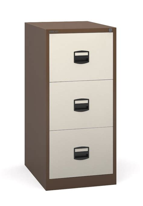 Filing Cabinet 3 Drawer by Bisley 3 Drawer Metal Filing Cabinet