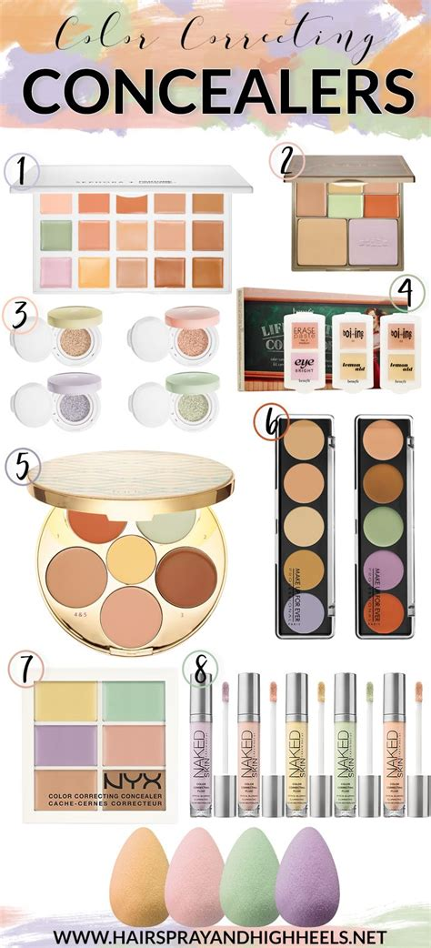 how to use color correcting concealers best 25 color correcting concealer ideas on