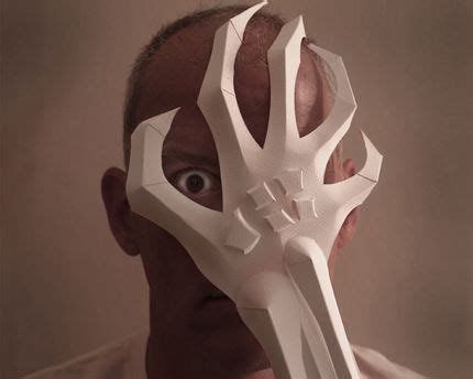A Paper Mask - the claw how to make an mask craftstylish