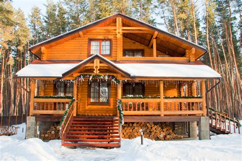 33 Stunning Log Home Designs Photographs Chalet Ski And Patio