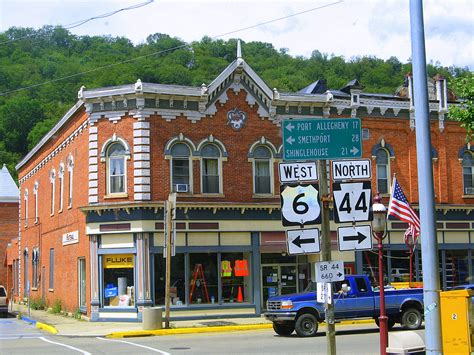 small towns small town pennsylvania via highway 6 on the road with