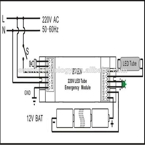 emergency lighting inverter wiring diagram get free