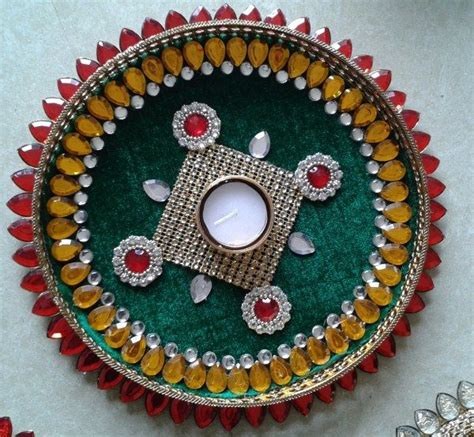 decorative aarti thali pictures 17 best images about aarti thali decorations on pinterest
