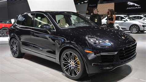porsche jeep 2015 2015 porsche cayenne turbo s gets faster more powerful w