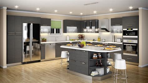 White Kitchen Island by 15 Space Saving Kitchen Cabinets With Unique Designs