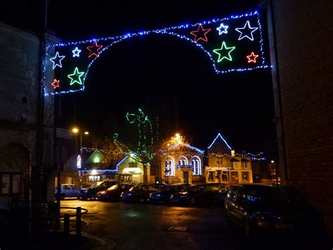 melksham christmas lights town shops and private houses