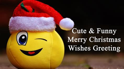 cute funny christmas wishes  merry xmas greeting youtube