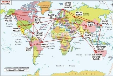 array map map of h a a r p eiscat arrays installed around the world world examiner news