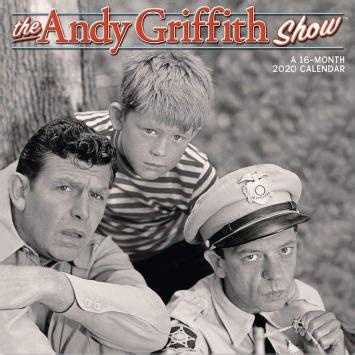 andy griffith show wall calendar