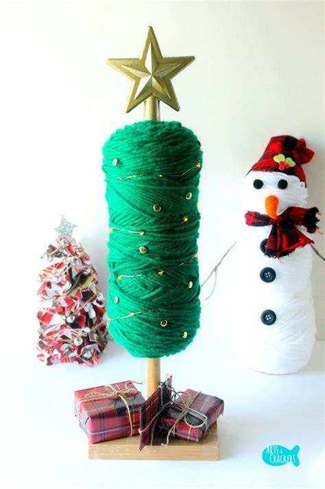 Decorating With Yarn by Easy No Sew Diy Yarn Tree Home Decor