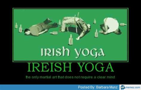 Irish Yoga Meme - irish yoga memes com