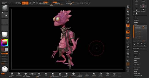 zbrush tutorial beginner pdf posing a character using transpose master in zbrush