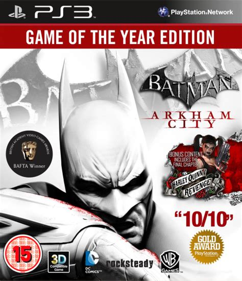 Ps4 Batman Arkham Of The Year Edition Goty batman arkham city of the year edition ps3 zavvi