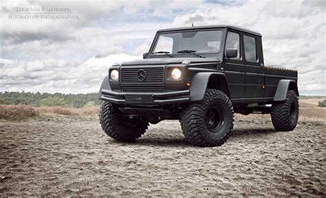 mercedes truck g500 conversion is like a mini unimog benzinsider com