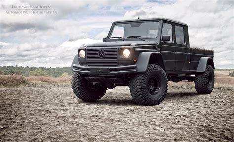 mercedes truck g500 conversion is like a mini unimog benzinsider com