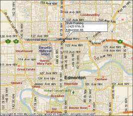 edmonton map of canada location of style framing in edmonton alberta