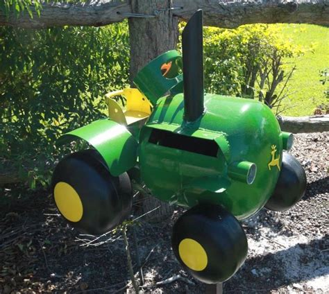 Letter Box Australia deere tractor letter box this letter box was