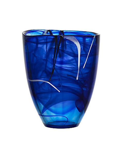 Kosta Boda Blue Vase by Kosta Boda Best Sellers