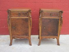Provincial Nightstand Dresser Set In Driftwood Antique Walnut General Finishes Antique Nights Stands Side Tables Antique Furniture Nightstands Found On Ruby