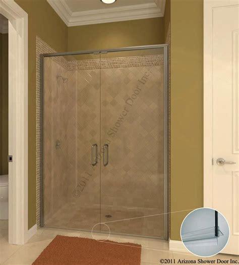 Pin By Arizona Shower Door On Semi Frameless Swing Doors Arizona Shower And Door