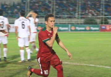 goal egi  menit akhir indonesia taklukan myanmar