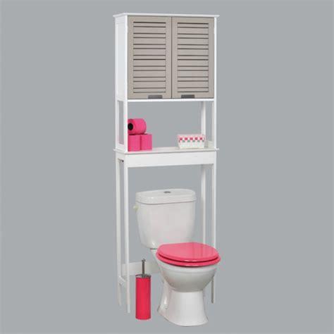 Attrayant Meuble Salle De Bain Petit Espace #2: cool-design-meuble-wc-pour-la-salle-de-bainen-blancavec-un-petit-armoire.jpg