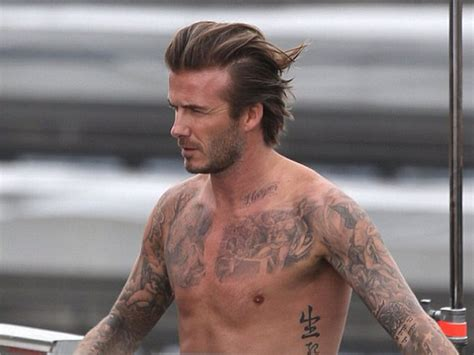 david beckham corre in slip sui tetti di londra video